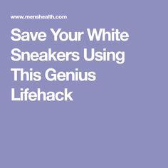 Save Your White Sneakers Using This Genius Lifehack