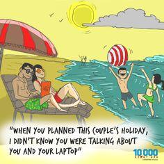 This is how entrepreneurs holiday. #Startups #Entrepreneurs