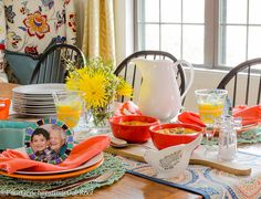 Easy tips: Mother's Day Table