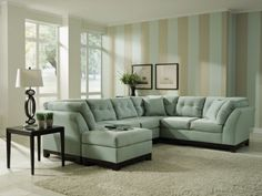 Love This Sofa In Khaki Living Room Sectional Couch
