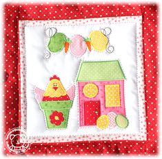 Little Village Quilt Block of the Month 9of 12 March 13x18cm /5x7