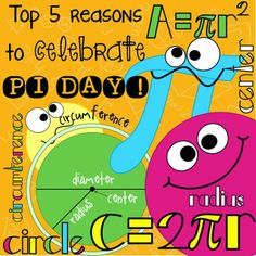 All Things Upper Elementary: Top 5 Reasons to Celebrate PI DAY!