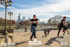 Interstude climbed The famous Rocky Steps!