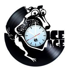 Ice Age Handmade Vinyl Record Wall Clock Fan Gift - VINYL CLOCKS