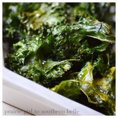 Homemade Kale Chips #healthy #recipes