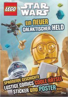 RZOnlinehandel - LEGO® STAR WARS ™ - Ein neuer Galaktischer Held - Rätsel und Stickerspaß