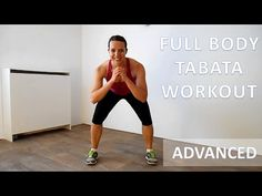 Advanced Full Body Tabata Workout – 25 Minute Cardio & Strength Routine At Home With No Equipment - YouTube