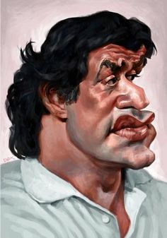Sylvester Stallone by Andre_Bethlem_DEX via wittygraphy