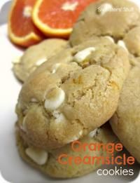 Six Sisters Orange Creamsicle Cookies are always popular at our family parties!! #sixsistersstuff