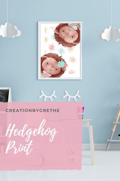 Are you looking for cute nursery decor? Look no further, this nursery hedgehog print is an affordable and fun way to decorate your nursery or kid's room. This is a digital item and is ready to download on your computer once your payment is confirmed. No waiting, no shipping fees. You can print it as many as you like in comfort of your home. CLICK TO SEE MORE. #animalprint #nurserywallart #kidsroomdecor #playroomdecor #colorfulnurseryart #printables Art Wall Kids, Nursery Wall Art, Nursery Decor, Gender Reveal Party Gifts, Playroom Printables, Playroom Wall Decor, Woodland Nursery Prints, Hedgehog Art, As You Like