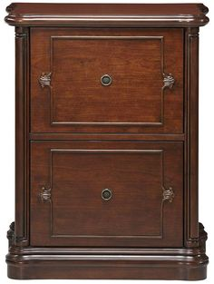 Small Wood File Cabinet