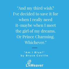 """""""Am I Blue?"""" by Bruce Coville - #YAlit - #BruceCoville - https://www.litweaver.com/contents/943844409"""