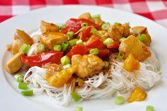 Spicy Stir Fried Orange Chicken