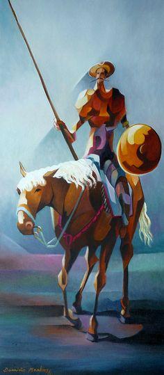 Don Quixote com Escudo ²--Damiao Martins-Brazil