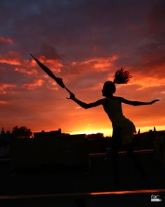 Photo A silhouette at sunset by Eric Belanger on 500px