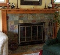 Garys Slate Fireplace Project Ceramic Tile Advice Forums John