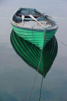 Nets aside.  Boat filled.