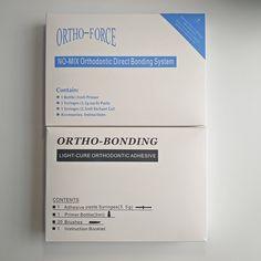 Ortho-bonding dental adhesive no need light cure ortho force