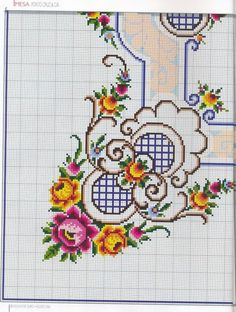 Brilliant Cross Stitch Embroidery Tips Ideas. Mesmerizing Cross Stitch Embroidery Tips Ideas. Cross Stitch Borders, Cross Stitch Rose, Cross Stitch Flowers, Cross Stitch Charts, Cross Stitch Designs, Cross Stitching, Counted Cross Stitch Patterns, Embroidery Applique, Cross Stitch Embroidery