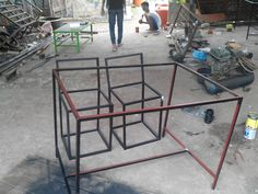 Under construction a simple framework to chairs and table