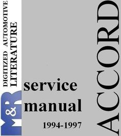 2002 2006 crv honda second generation factory service manual to rh pinterest com 2006 accord owners manual 2006 honda accord owners manual free download