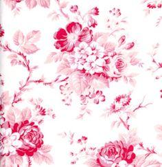 Tanya Whelan, Picnic Rose Blush  *ACHTUNG: AUSLAUFARTIKEL, NUR NOCH WENIGE METER ÜBRIG*  Traumhafter Rosenstoff in super Patchworkqualität aus ...