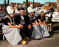 Originele klederdracht Volendam