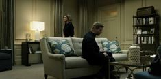 In the Underwood White House on House of Cards:  home decor from @kelloggfurn (click for details)
