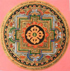mandala #buddhist #art #buddhism