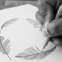 Drawing feathers is really relaxing for me. It's kind of like knitting for others. What creative pastimes do you have that put your mind at ease? Share a comment ... . #illustrations #illustration #drawing #linedrawing #linework #fineliner #inkonpaper #sketch #scribble #doodle #penwork #deko #dekoration #kinfolk #kinfolklife #cerealmag #solebeich #loveobjects #lüneburg #elledecor #bobedre #micronpens #analoguelife #feathers #decor8 #flowmagazine