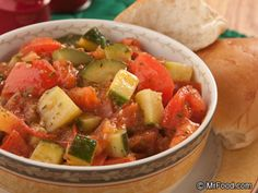 All-Star Zucchini - The ultimate side dish. Feel free to substitute any of the veggies for your own favorites!