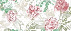 """Suunnittelija Lara Costafredan upeassa tapettimallistossa """"Alive, free and wild"""" yhdistyvät raikas Välimeren ilma ja tropiikin lämpö. Väripaletti sisältää turkoosia, vaaleanpunaista, vihreää ja keltaista upeissa vesivärein maalatuissa kuvioissa."""