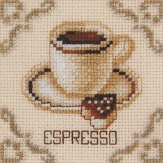 click here to view larger image of Espresso (counted cross stitch kit)