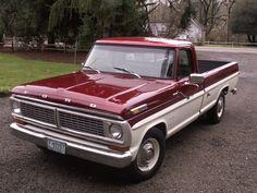 1972 Ford Truck F100 Explorer Pickup