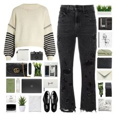 """#"" by giulls1 ❤ liked on Polyvore featuring Alexander Wang, Sportmax, Gucci, Acne Studios, Givenchy, SELECTED, Aesop, LSA International, Undercover and Royal & Langnickel"