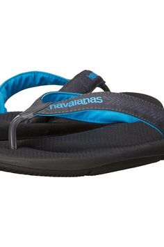 Havaianas Surf Pro Flip Flops (Black) Men's Sandals - Havaianas, Surf Pro Flip Flops, 4133421-001, Footwear Open Casual Sandal, Casual Sandal, Open Footwear, Footwear, Shoes, Gift, - Street Fashion And Style Ideas