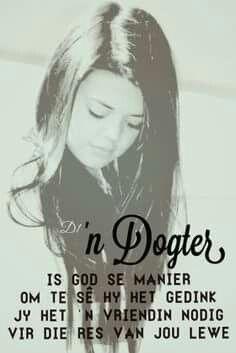 'n Dogter.... #Afrikaans #FamilyTies