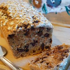 Enjoy this savory oatmeal bread as a hearty snack or subtly sweet dessert.data-pin-do=