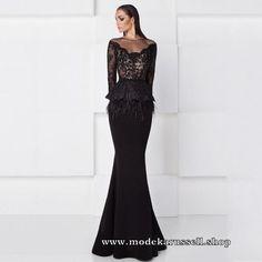 Trompeten Abendkleid Rossana