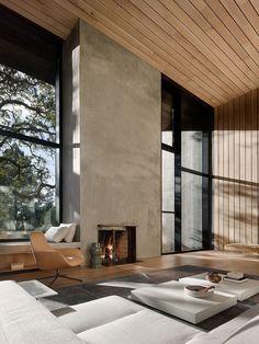 Modern interior design – Home Decor Interior Designs Home Design Decor, Modern House Design, Modern Interior Design, Interior Architecture, Design Ideas, A Frame Cabin, Fireplace Design, Cheap Home Decor, Interior Decorating