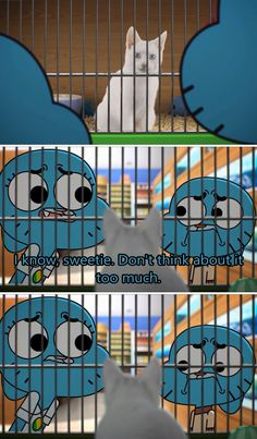 I just watched this episode XD Funny Cartoon Memes, Funny Comics, Amazing World Of Gumball, Cartoon Network, Cartoon Shows, Funny Cute, The Funny, Funny Pins, Adventure Time