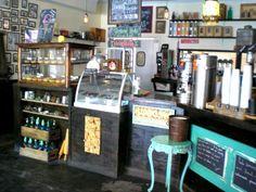 Dun-well Doughnuts Interior