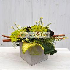 Composizione fiori artificiali per arredamenti floreali: Fiori & Fiori