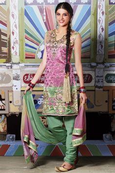 super punjabi styles! thread & zardosi work!