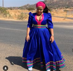 South African Dresses, African Maxi Dresses, Latest African Fashion Dresses, African Dresses For Women, African Print Fashion, African Attire, Xhosa Attire, African Prints, Sotho Traditional Dresses