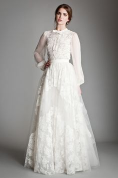 Temperley Bridal - Titania Collection 2013/14 - Petunia skirt and heather shirt