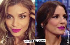 O Batom Da Sophie Charlotte No Show Do Roberto Carlos!
