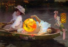 """Carnival Eve, undated, by Ulpiano Checa y Sanz. """"Ulpiano Checa (1860-1916) was a Spanish painter, sculptor, poster designer and illustrator. He used both impressionistic and academic techniques, and painted mainly historical subjects."""""""