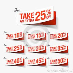 Take Extra Sale Coupons Vector Stock Vector (Royalty Free) 228802708 Food Poster Design, Book Design, Web Design, Free Vector Images, Vector Free, Vector Stock, Commercial Ads, Ui Web, For Sale Sign