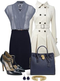 Love this outfit for work or going out, upscale classy, awesome white jacket